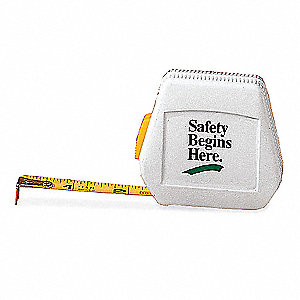 Slogan Tape Measure,Safety Begins Here