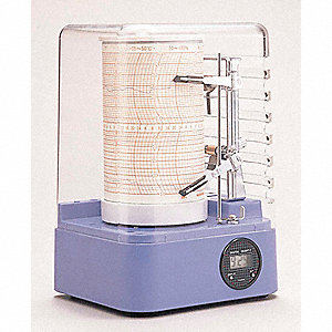 HYGROTHERMOGRAPH MINIATURE -27 TO 1