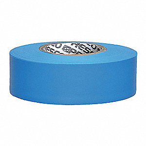 Taffeta Flagging Tape,Blue Glo,150 ft