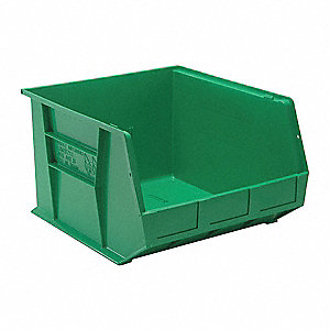 Hang and Stack Bin,18 In L,16-1/2 In W