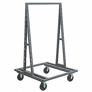 A-Frame Mobile Bin Cart,2000 lb.,38 In.L