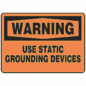 "Electrical Hazard, Warning, Aluminum, 7"" x 10"", With Mounting Holes, Not Retroreflective"