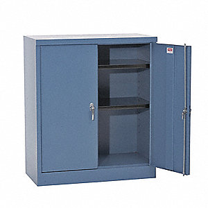 "Storage Cabinet, Gray, 78"" Overall Height"