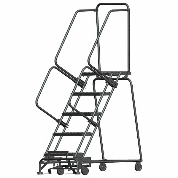 Ballymore 5 Step Rolling Ladder Serrated Step Tread 83