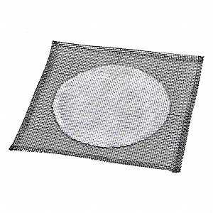 Wire Gauze,Iron,6x6 In,24 SWG,PK10
