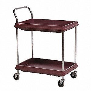 Utility Cart,400 lb. Load Cap., PE