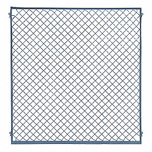Wire Partition Panel,5 ft x 4 ft,Smooth