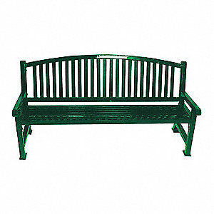 Superb Thermoplastic Coated Metal Outdoor Bench Green Bralicious Painted Fabric Chair Ideas Braliciousco