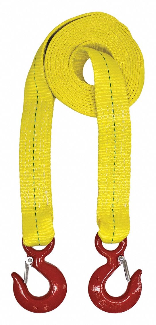 Yellow 6Inx30Ft Lift-All Recovery Strap