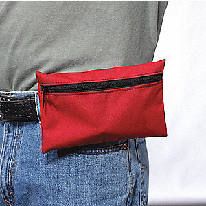 Biohazard Spill Kit, Fanny Pack, 1 EA