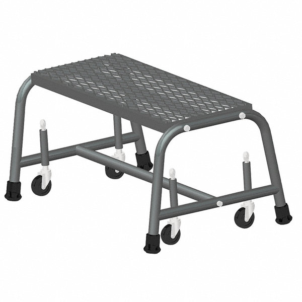 Ballymore 1 Step Rolling Ladder Expanded Metal Step Tread