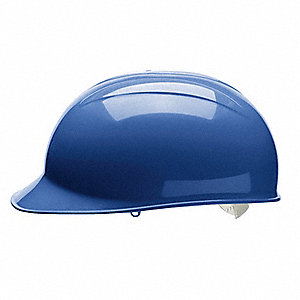 Blue Polyethylene Bump Cap, Fits Hat Size: One Size Fits Most