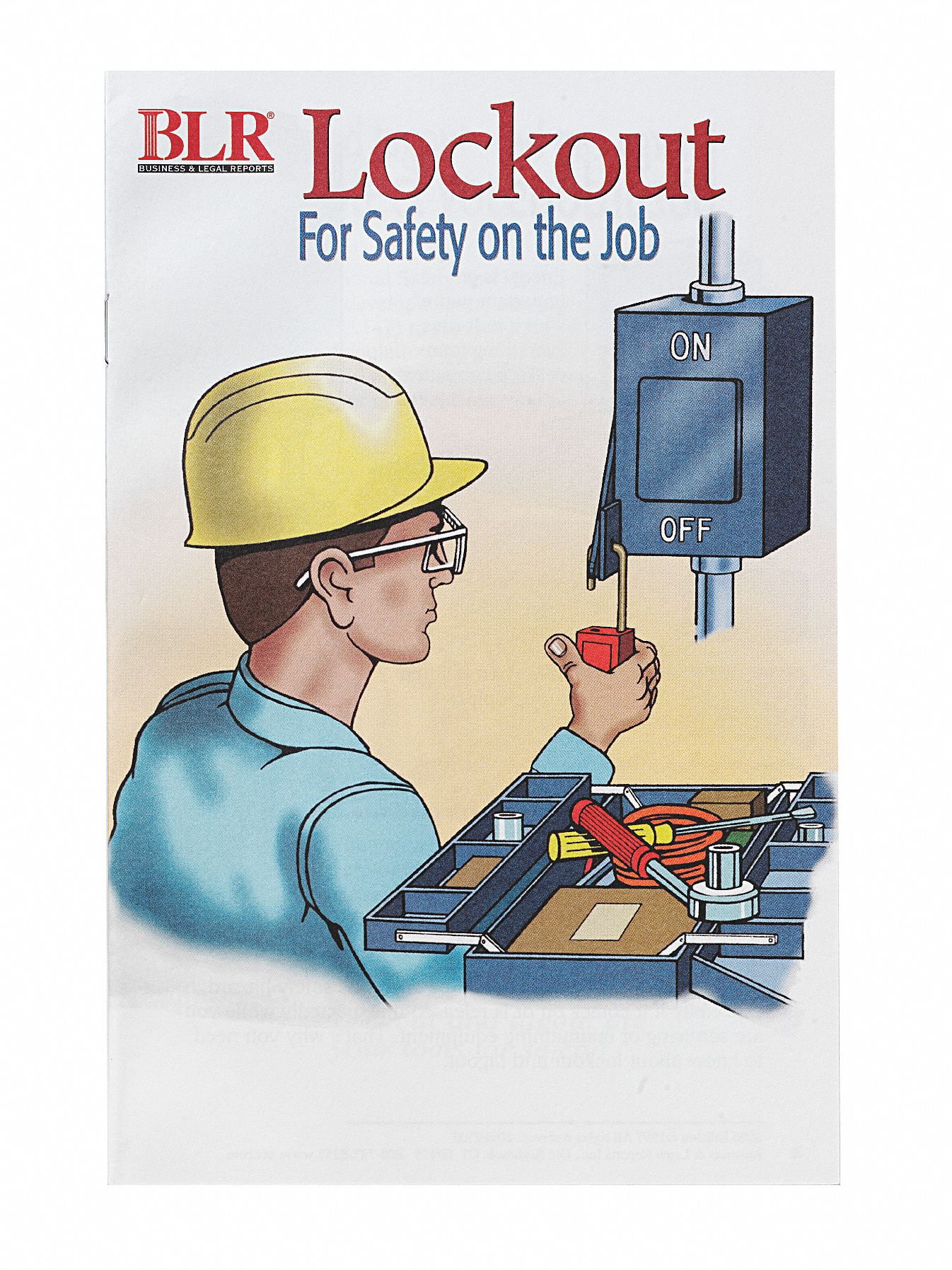 Book/Booklet,  Lockout Tagout,  English