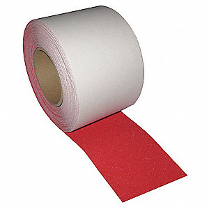 "60 ft. x 4"" Plastic Antislip Tape, Red"