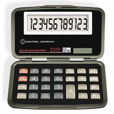 8X526 - Calculator Portable 2-1/2 In