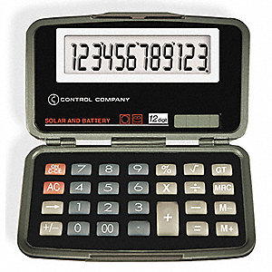 Calculator,Portable,2-1/2 In