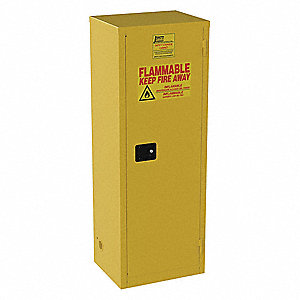 Cabinet,24 gal,Flammable,18x65x23