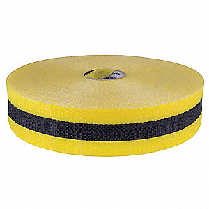 Barrier Tape,Woven,2 In, x 200 ft,Yellow