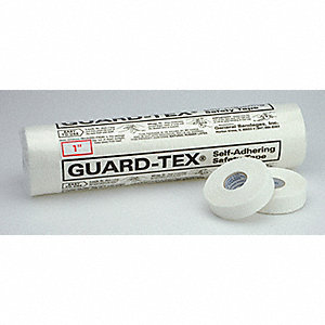 Safety Tape,White,1 In. W,30 yd. L,PK12