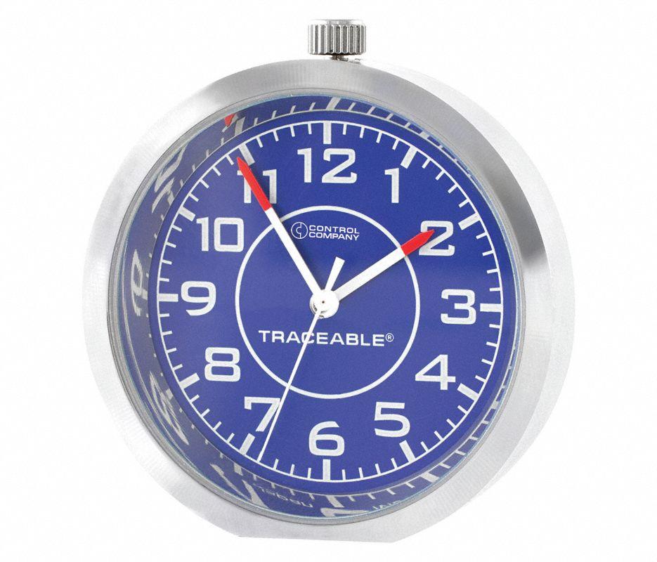 Mini Clock,1.6 In x  0.3 In