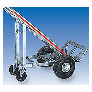4-Wheel Attachment, 5'', Rubber, For Use With Magliner Hand Trucks