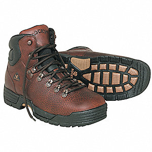 Work Boots,Pln,Ins,Men,13W,Brown,PR