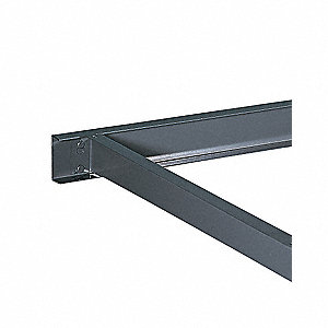14 Gauge Steel Center Support, Gray; PK6