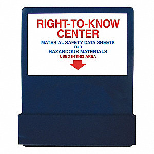 MSDS Center Board,24 In. W,30 In. H