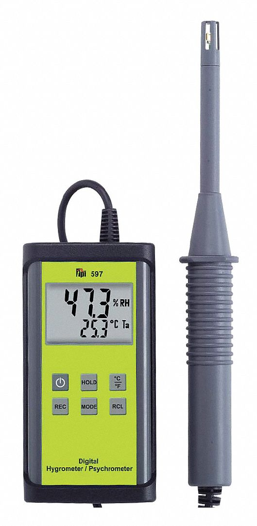 Digital Psychrometer, -40 to 122F Range