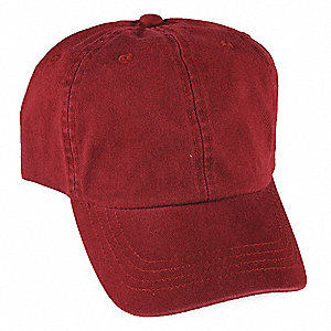 Baseball Hat,Red,Adjustable
