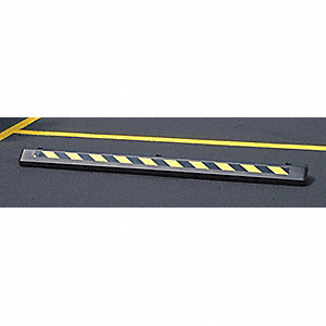 Parking Curb,6 Ft L,Blue,PK50