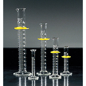 Graduated Cylinder,Glass,10mL,PK4