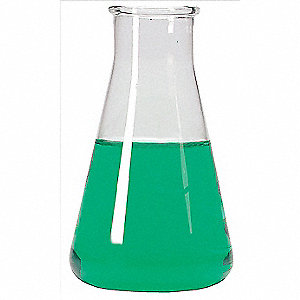 Erlenmeyer Flask,500mL,Wide,PK6