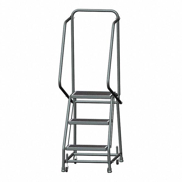 Ballymore 3 Step Rolling Ladder Rubber Mat Step Tread 58