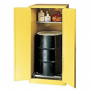 Eagle 55 Gal Hazardous Waste And Drum Storage Cabinet