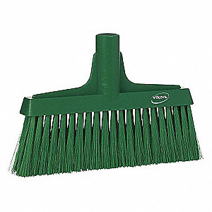 Green Floor Broom Head