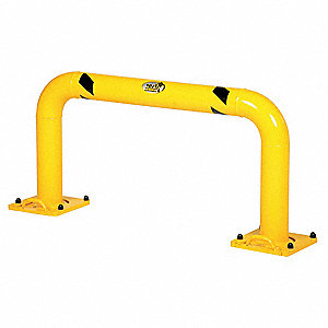 "Machine Guard,4-1/2"",Yellow"