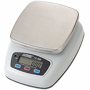 Portion Control Scale,SS, Plstic Pltfrm