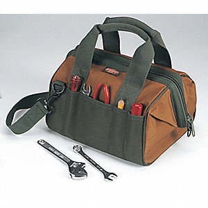 21-Pocket Canvas General Purpose Tool Bag