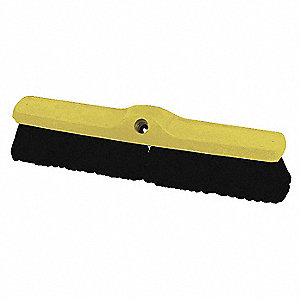 "Synthetic Push Broom, 18"" Sweep Face"