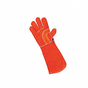 Welding Gloves,L,18 In. L,PR
