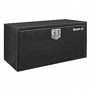 Steel Underbody Truck Box, Black, Double, 2.9 cu. ft.