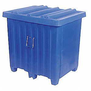 Container,23 cu. ft.,600 lb.,Blue