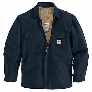 Flame-Resistant Jacket,Navy,XL