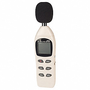 Digital Sound Meter,Compact,30 to 130db
