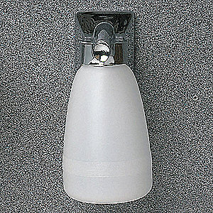 Soap Dispenser,Chrome,16 oz.
