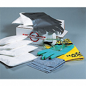 Spill Kit,Cardboard Box,3 gal.,Maint.