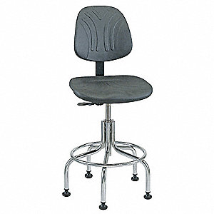 TASK CHAIR, CHROME BASE, 24-29IN