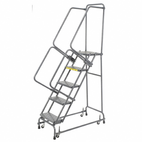Ballymore 5 Step Rolling Ladder Perforated Step Tread 83