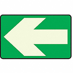 Floor Arrow Rectangular Marker